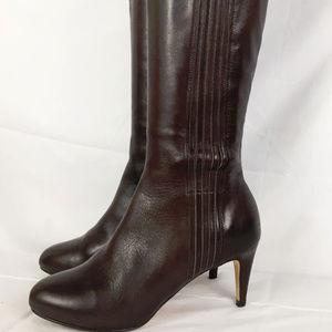 6.5 Cole Haan Nike Air Brown Tall Boots kitten Hee